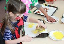 Helping Hands Preschool Art